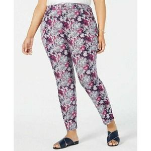 Charter Club Skinny Jeans Floral 28W New